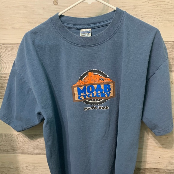Moab Cyclery Printed Tee
